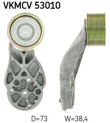 kreipiantysis skriemulys, V formos rumbuotas diržas VKMCV 53010